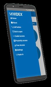 VIDEX Entry Gate System App